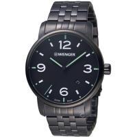 瑞士 WENGER Urban Metropolitan系列城光點跡時尚腕錶 01.1741.119