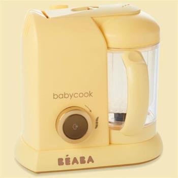 法國Beaba-BabyCook Solo 嬰幼兒副食品調理機-馬卡龍黃