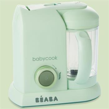 【法國Beaba】BabyCook Solo 嬰幼兒副食品調理機-馬卡龍綠