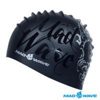 俄羅斯 MADWAVE MASK 成人矽膠泳帽