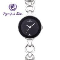 Olympia Star 奧林比亞之星-奧林比亞之星 極簡風尚珠寶腕錶-黑 28030LS