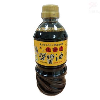 屏科大純釀造非基改薄鹽醬油 1瓶 (560ML/瓶)