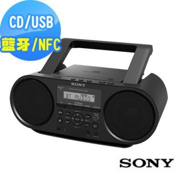SONY NFC藍牙音樂播放器ZS-RS60BT+送音樂CD