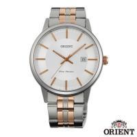 ORIENT東方錶  風格簡約藍寶石石英男錶-銀x40mm FUNG8001W0