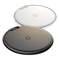 Baseus新品公司貨 iX 高質感金屬皮革 無線快速充電盤