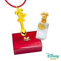 Disney迪士尼系列金飾 彌月金飾印章套組木盒-榜首美妮款-美妮造型印章 0.55錢