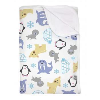 瑞典ImseVimse-有機棉柔寶寶毯(極地探險)