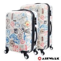 AIRWALK - 精彩歷程 環郵世界行李箱20+28吋2件組-共2色