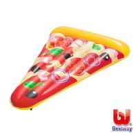 哈街Bestway 美味披薩造型充氣浮排/pizza泳圈/浮板