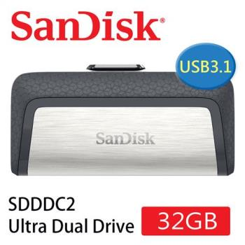 SanDisk Ultra Dual Drive USB Type C 雙用隨身碟(32G/OTG ) [公司貨]