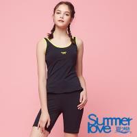 夏之戀SUMMER LOVE 大女長版二件式泳衣S18722