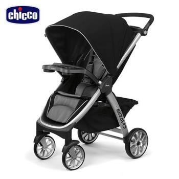 【買就送好禮】chicco-Bravo極致完美手推車Air版-星塵黑