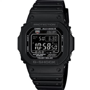 G-SHOCK 5600系列進化六局電波腕錶 GW-M5610-1B