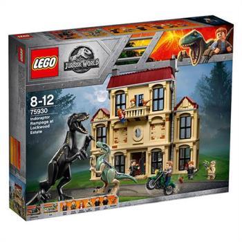 樂高積木 - Jurassic World 侏儸紀世界系列 - Indoraptor Rampage at Lockwood Estate 75930