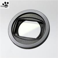 台灣製造Freemod半自動蓋X-CAP2(含STC保護鏡)40.5mm鏡頭蓋Black黑色