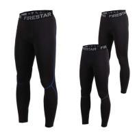 FIRESTAR 男機能緊身長褲-厚-慢跑 路跑 健身 訓練 運動長褲