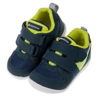 《布布童鞋》Moonstar日本深藍色寶寶透氣機能學步鞋(12.5~16公分)I8H7S5B