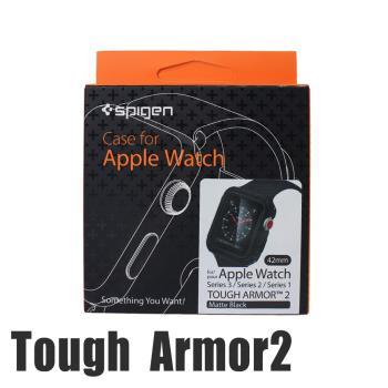 韓國Spigen Tough Armor 2 Apple Watch Series2/3代專用 運動型防刮保護殼(42mm)