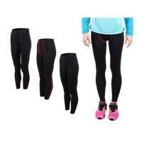 FIRESTAR 女機能緊身長褲-慢跑 路跑 馬拉松