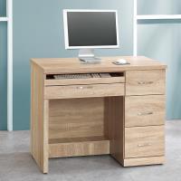 Bernice-安格斯3.2尺三抽電腦書桌/工作桌
