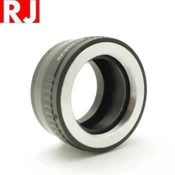 RJ有檔板M42轉FX鏡頭轉接環(M42鏡頭轉成Fujifilm富士X-Mount)M42-FX M42轉XF M42-XF M42轉X M42-X