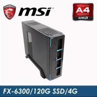 |微星平台|光激戰士 FX-6300-3.5G/4G RAM/120G SSD/300W 六核高效高速桌上型電腦