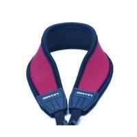 韓國製造MATIN防滑彈性DSLR單眼相機減壓背帶 減壓相機背帶M-6784(酒紅色,彎型,無字樣)