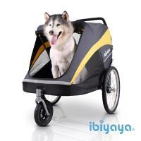 IBIYAYA依比呀呀  黃金巴士充氣胎寵物推車(FS1780)