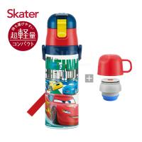Skater不鏽鋼保溫水壺(2WAY)麥昆McQueen