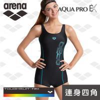 限量 春夏新款 arena 訓練款 TSS8121W 修身 顯瘦 小胸聚攏 性感 大碼 溫泉泳裝 連體平口四角泳衣