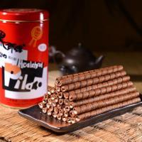 【黑師傅】 捲心酥3罐 (400g/ 罐)(咖啡/ 黑糖任選)