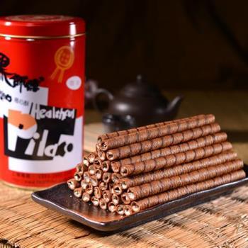 黑師傅 捲心酥3罐 (400g/罐)(咖啡/黑糖任選)