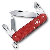 VICTORINOX 瑞士維氏ALOX限量金屬殼9用瑞士刀-莓果紅 02601.L18