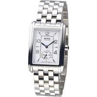 HUGO BOSS 獨立小秒錶盤個性時尚男錶