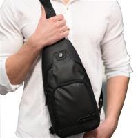 PUSH! 戶外用品 防水單肩斜背包旅遊包學生包3C小包商務包防搶包手機包U52