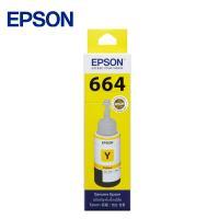 EPSON T664 系列 【黃色】原廠墨水-T664400