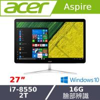 Acer宏碁桌電  八代i7 27型AIO液晶電腦 U27-885