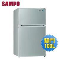 SAMPO 聲寶100公升一級能效雙門冰箱SR-A10G