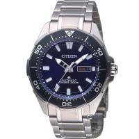 CITIZEN星辰PROMASTER超級鈦潛水機械錶 NY0070-83L
