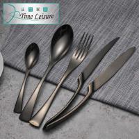 Time Leisure 歐風西餐刀湯匙刀叉4件組不鏽鋼餐具