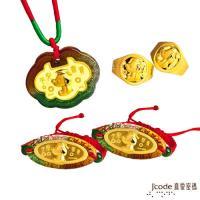 Jcode真愛密碼 博士旺旺黃金彌月禮盒-0.5錢