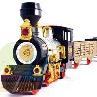 Playful Toys 頑玩具 蒸氣軌道火車1592 (仿真軌道火車 復古火車 蒸氣軌道火車 精緻火車 仿真復古 頑玩具 )