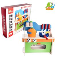 【Playful Toys 頑玩具】木製廚房組(裝扮遊戲 家家酒玩具 木製仿真廚房遊戲組 兒童木質迷你廚房 經典木玩)