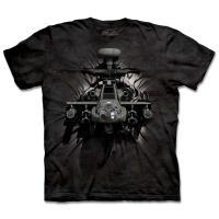摩達客 美國進口The Mountain 突破直升機純棉環保短袖T恤