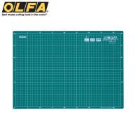 日本OLFA雙面切割墊CM-A3經典綠雙面裁墊