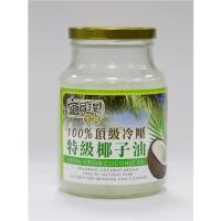 六員環生技-生酮能量特級冷壓初榨椰子油450公克4罐