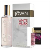 JOVAN White Musk 白麝香/黑麝香女用古龍水(96ml)*2
