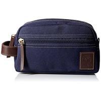 Timberland 2018男時尚帆布深藍色拉鍊旅行手拿包