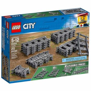 LEGO樂高積木 - City 城市系列 - 軌道和彎道 60205