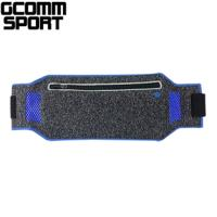 GCOMM SPORT  萊卡輕薄貼身防汗水音樂腰包 海軍藍